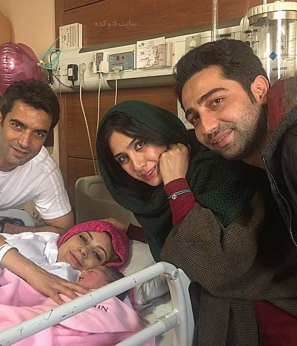 بیوگرافی علی سخنگو و همسرش در کنار خانواده منوچهر هادی