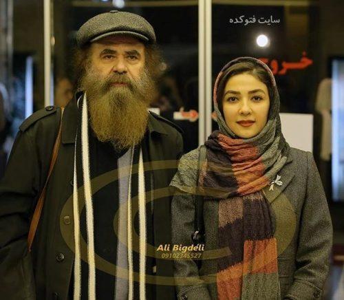 عکس سارا صوفیانی و همسرش امیرحسین شریفی
