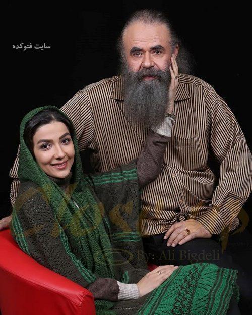 عکس امیرحسین شریفی و همسرش سارا صوفیانی