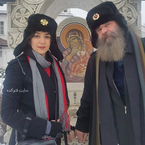 سارا ناز پرور صوفیانی و همسرش