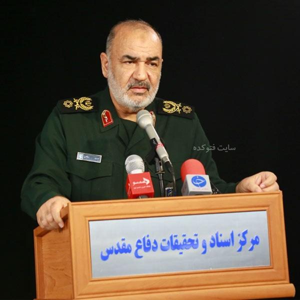 زندگینامه سردار سلامی فرمانده سپاه