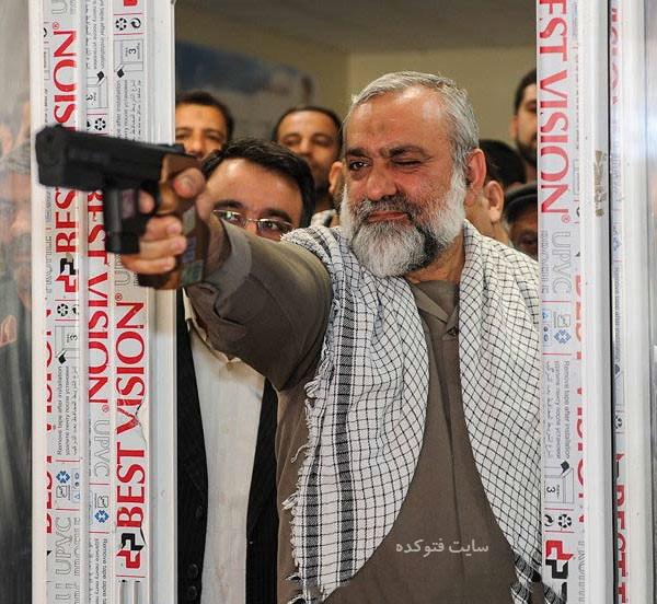 بیوگرافی سردار محمدرضا نقدی سپاه پاسداران با عکس