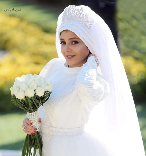 عکس Sareh Bayat در لباس عروس