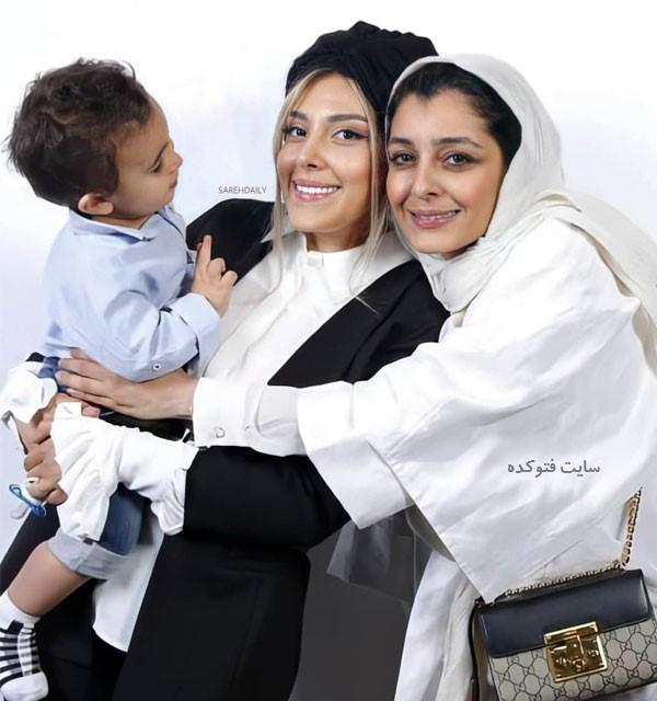 عکس ساره بیات و خواهرش سرویس با داستان زندگی
