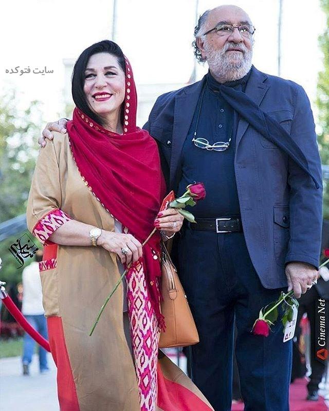 عکس داریوش ارجمند و همسرش فرشته یغمایی + بیوگرافی کامل