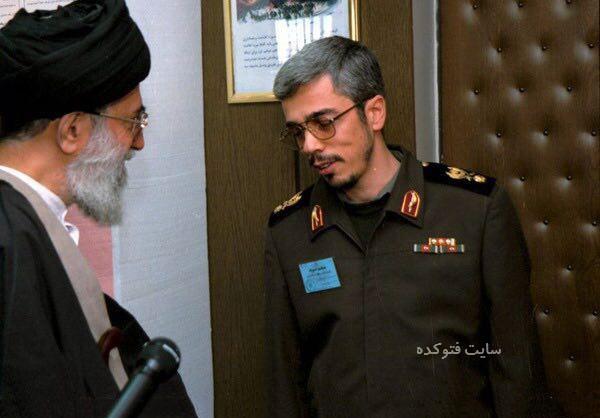 عکس قدیمی سرلشکر محمد باقری با رهبری