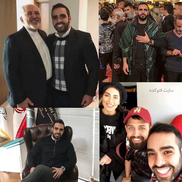 عکس های ساشا سبحانی در ایران و کنار دکتر ظریف