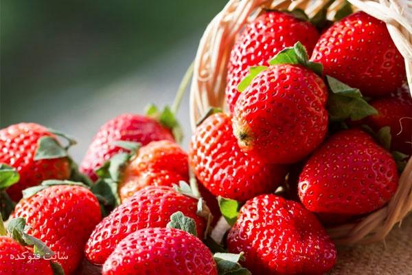 کاهش وزن با توت فرنگی