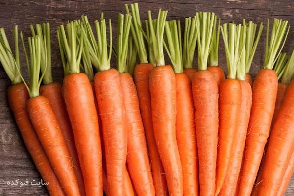 کاهش وزن با هویج