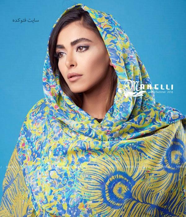 شال و روسری عید 97 + مدل های شال و روسری 2018