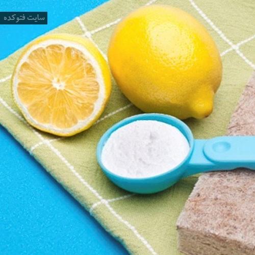 درمان سفیدی زبان با طب سنتی با جوش شیرین + لیمو