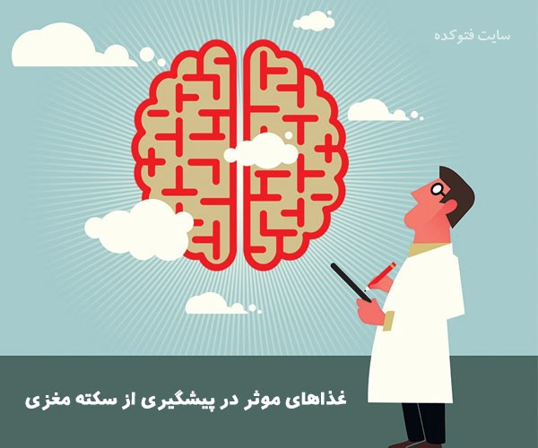 رژیم غذایی برای جلوگیری از سکته مغزی