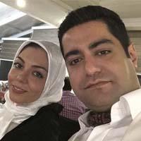 عکس جدید آزاده نامداری و همسرش سجاد عبادی