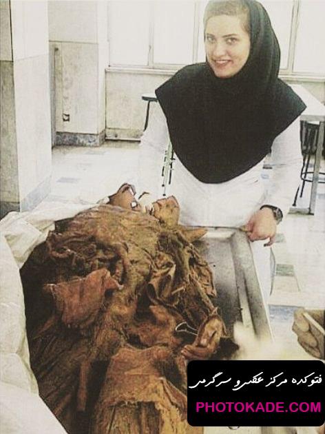 عکس سلفی دانشجویان پزشکی با جسد