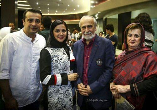 عکس خانوادگی سپند امیرسلیمانی + بیوگرافی کامل