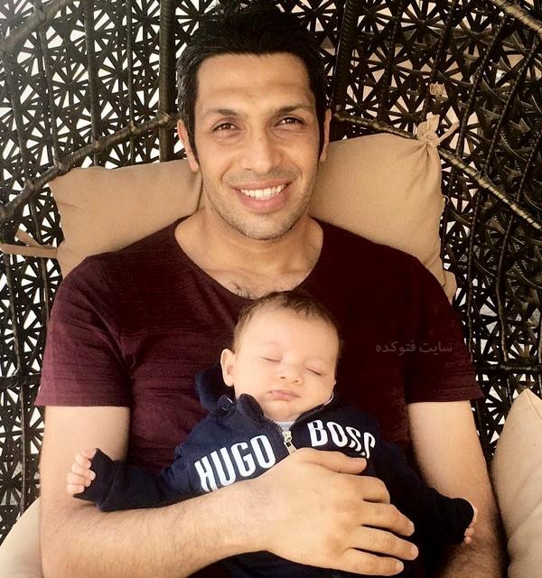 عکس و بیوگرافی سپهر حیدری و پسرش دیاکو
