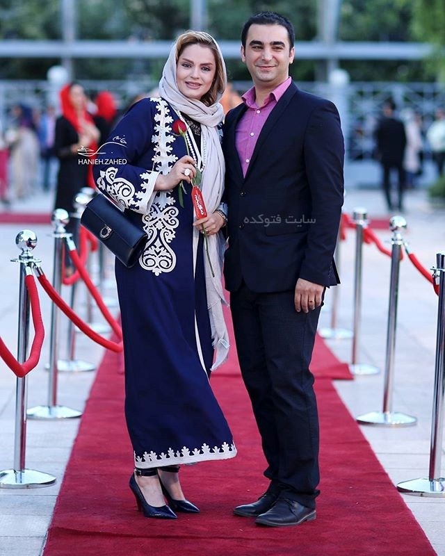 Sepideh Khodaverdi و همسر امین نظری