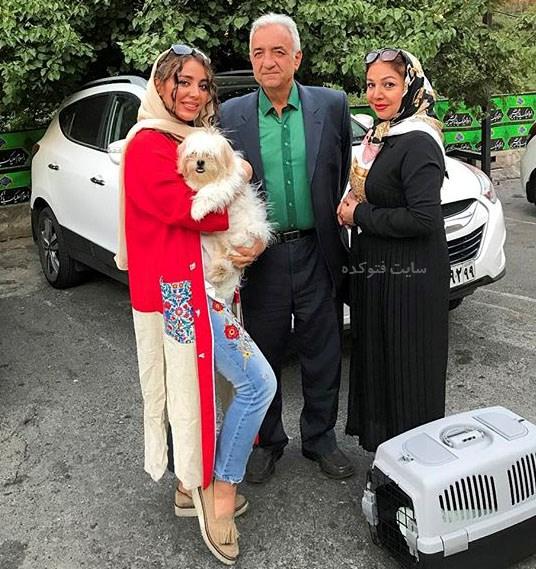 عکسسپیده مرادپور در کنار پدر و مادر + زندگینامه