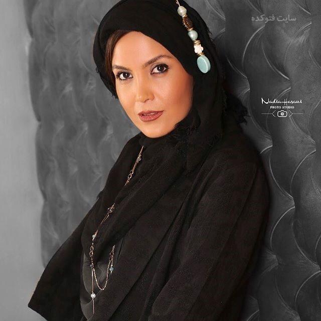 عکس سامیه لک بازیگر سریال آنام