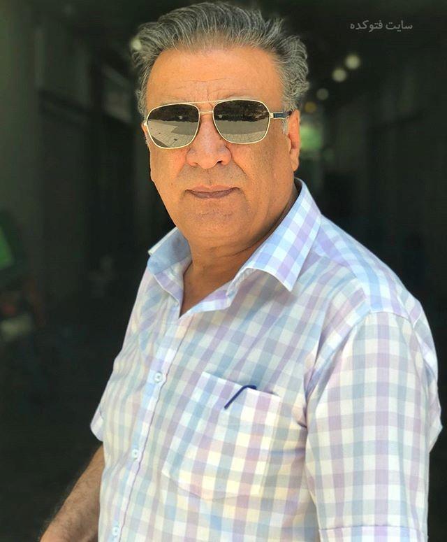 عکس عبدالرضا اکبری بازیگر سریال آنام