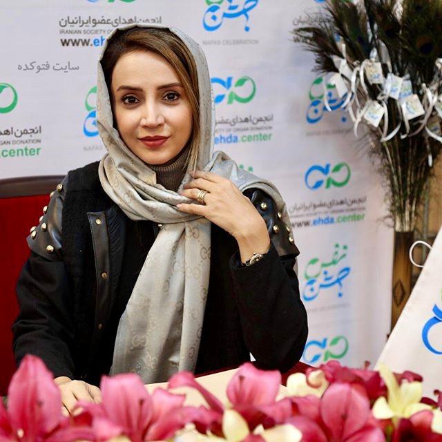عکس شبنم قلی خانی بازیگر سریال آنام