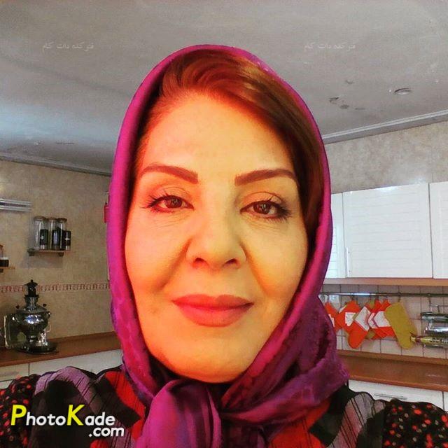 زهره حمیدی بازیگر سریال پشت بام تهران
