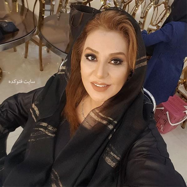 از بازیگران سریال دل خانم نسرین مقانلو