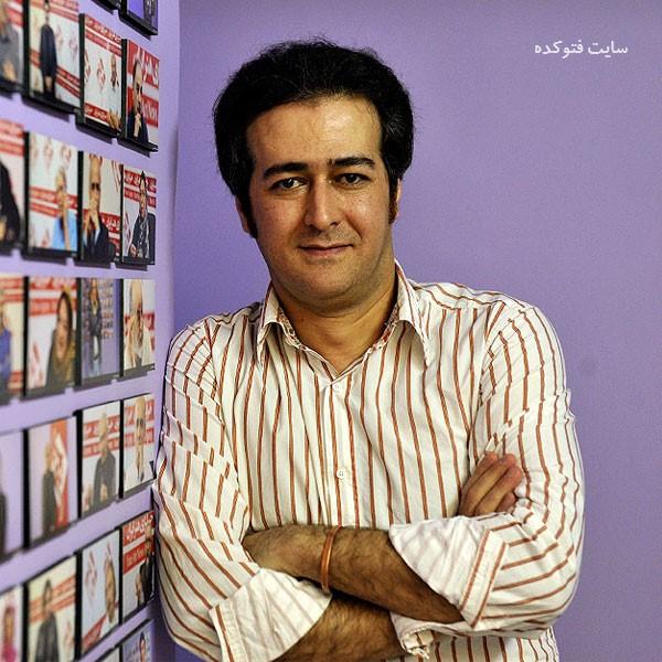 بهنام شرفی در عکس هنرمندن سریال نوروزی کامیون