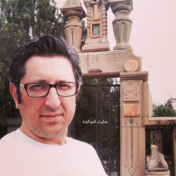عکس شهاب عباسی در اسامی بازیگران سریال کامیون