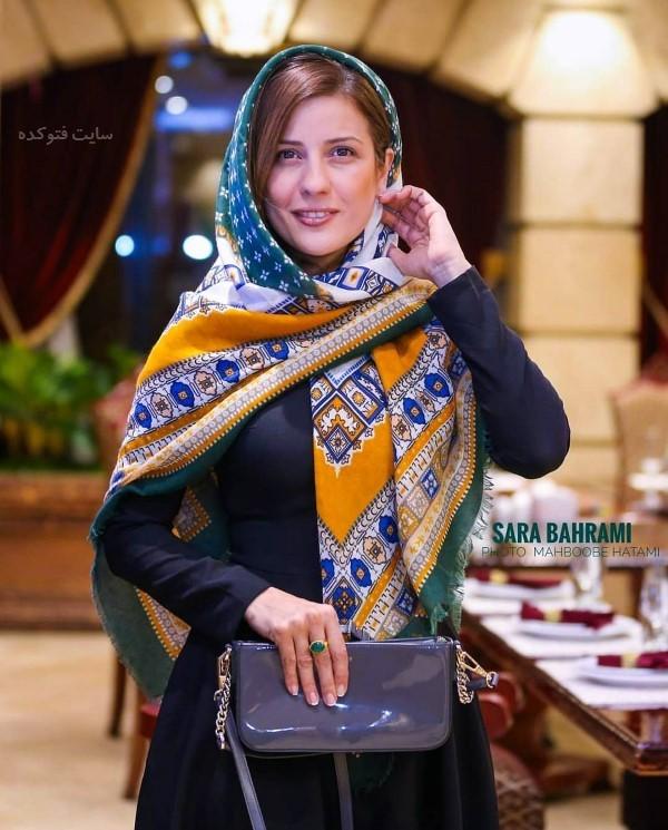 سارا بهرامی در عکس و بیوگرافی بازیگران سریال کرگدن