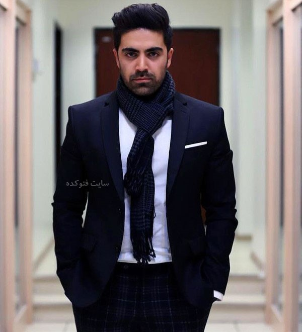 محمد امین در عکس بازیگران سریال کرگدن