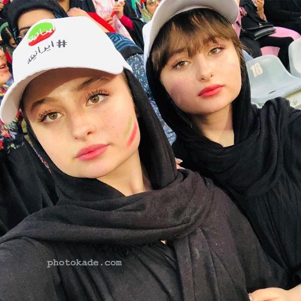 سارا و نیکا فرقانی اصلی در عکس بازیگران سریال پایتخت 6