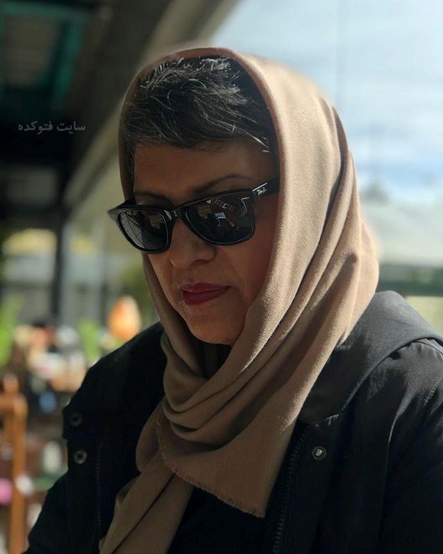 عکس جدید رویا تیموریان بازیگر سریال سایه بان