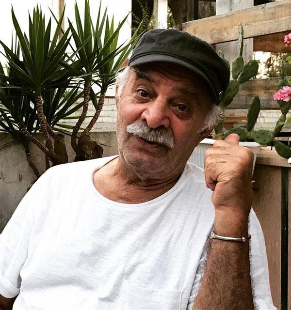 عکس سیروس گرجستانی در اسامی بازیگران سریال شرم
