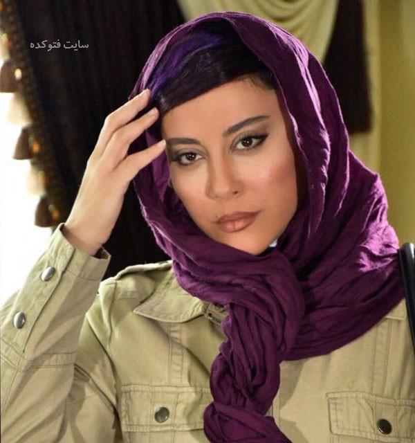عکس آشا محرابی در اسامی بازیگران سریال شرم ایرانی
