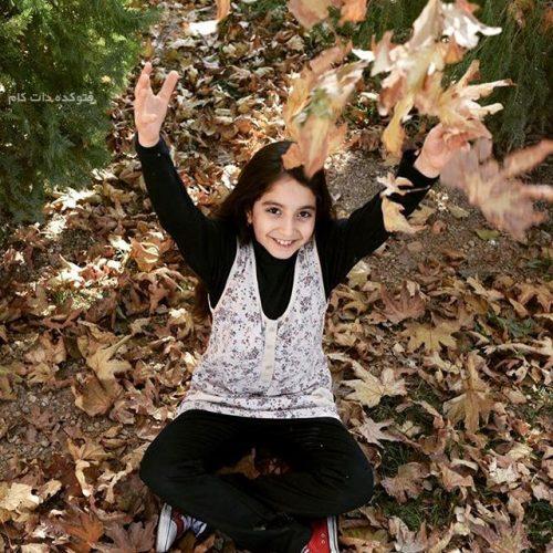 عکس روژان تقی زاده بازیگر خردسال سریال پریا
