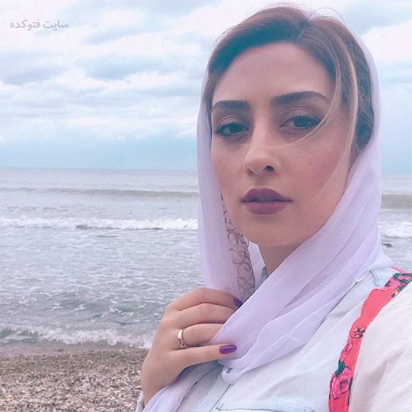 عکس الهام طهوری بازیگر سریال پدر