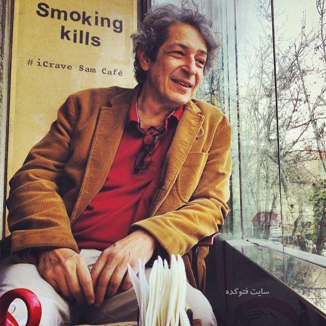 عکس نادر مشایخی بازیگر سریال نوار زرد (بیوگرافی)