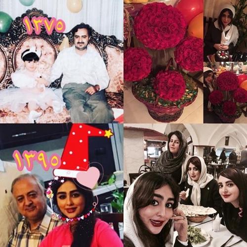 عکس خانوادگی ستاره حسينی + بیوگرافی کامل