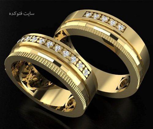 جدیدترین مدل حلقه ازدواج ست 2017 ایرانی