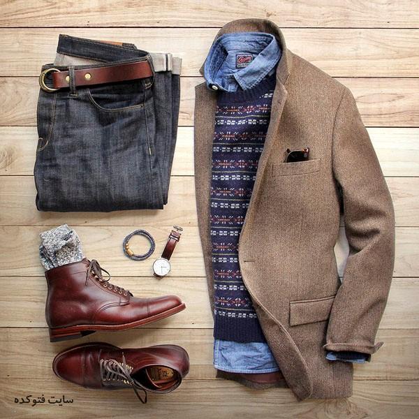 عکس ست لباس زمستانی مردانه و پسرانه 2018 - 96 شیک و جدید