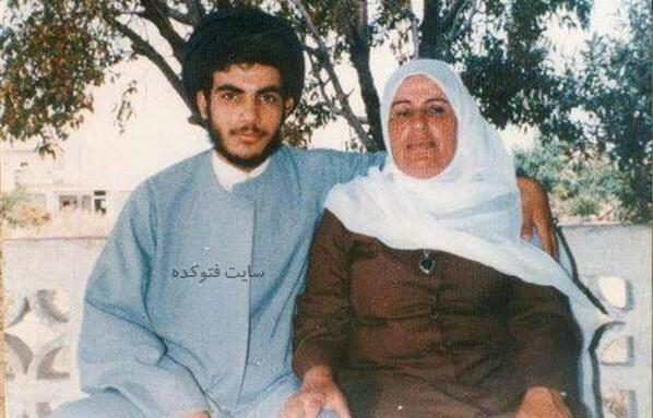 Hassan Nasrallah و مادرش