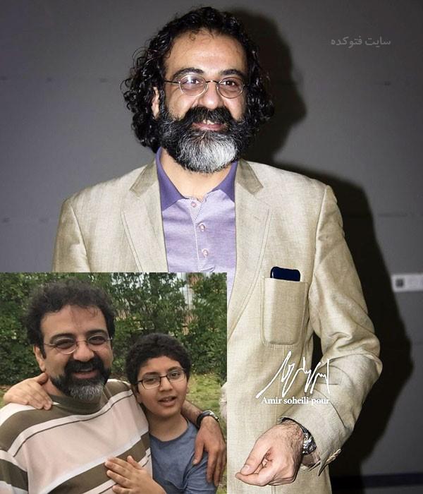 عکس های جواد یحیوی و پسرش + بیوگرافی