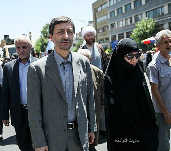 پرویز فتاح و همسرش با عکس های جدید