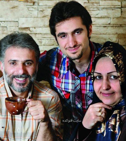 عکس سید جواد هاشمی و همسرش + پسرش محسن با بیوگرافی کامل