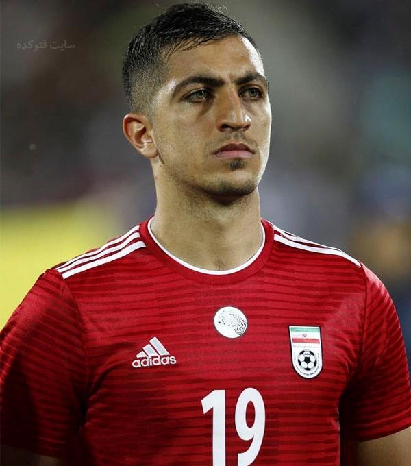 مجید حسینی بازیکن فوتبال + بیوگرافی
