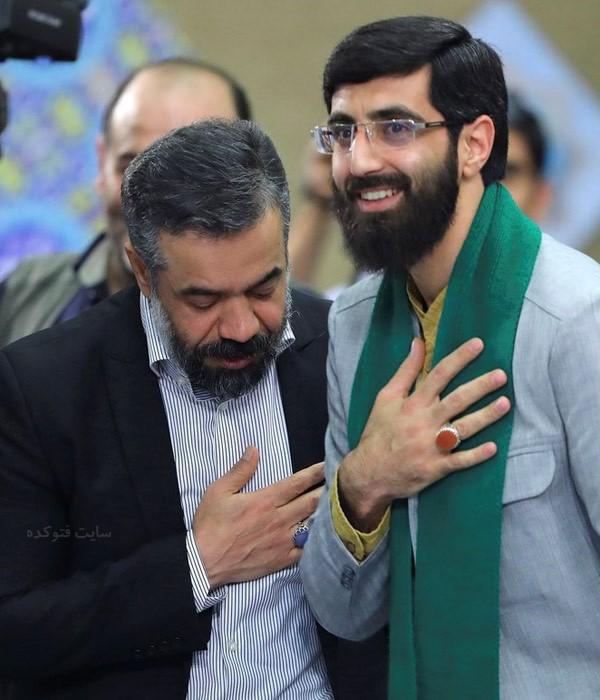 سید رضا نریمانی مداح و محمود کریمی