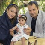 آغاز سفر نوروی شبنم قلی خانی و همسرش با شانا دخترش