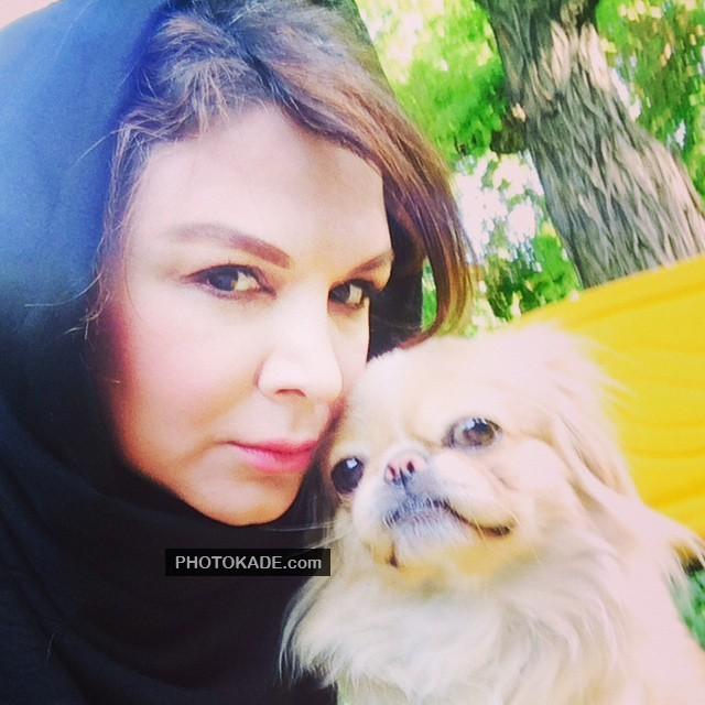 عکس شهره سلطانی و حیوان خانگی اش + بیوگرافی کامل زندگی شخصی
