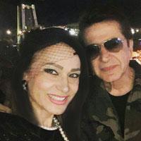 حمید شب خیز و همسرش ماندانا + بیوگرافی کامل